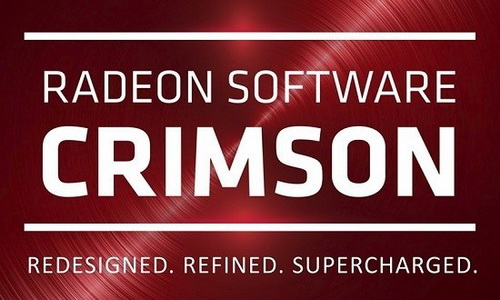 AMD Radeon Software Crimson Edition Graphics Driver